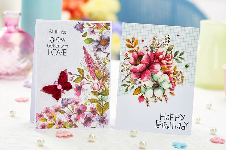 Make these cards with Dovecraft's Premium Bohemium collection! (PaperCrafter issue 84)
