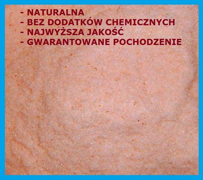 Sól Himalajska Różowa drobna (0-1mm), 5kg NAJ