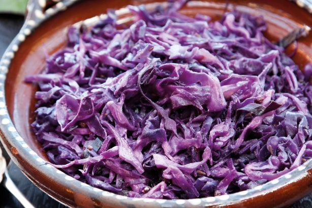 Braised red cabbage main image