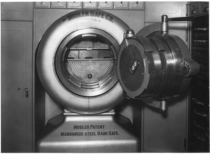 Safe Door Quot Mosler Safe Co Mosler Patent Manganese Steel
