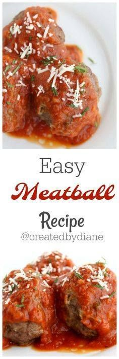 easy meatball recipe easy meatball recipe from Created by Diane...  easy meatball recipe easy meatball recipe from Created by Diane Recipe : http://ift.tt/1hGiZgA And @ItsNutella  http://ift.tt/2v8iUYW
