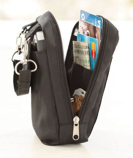 New Black Slim Smartphone Organizer Purse Crossbody Bag Wallet Wristlet Purchase Pinterest Purses Organization And Bags