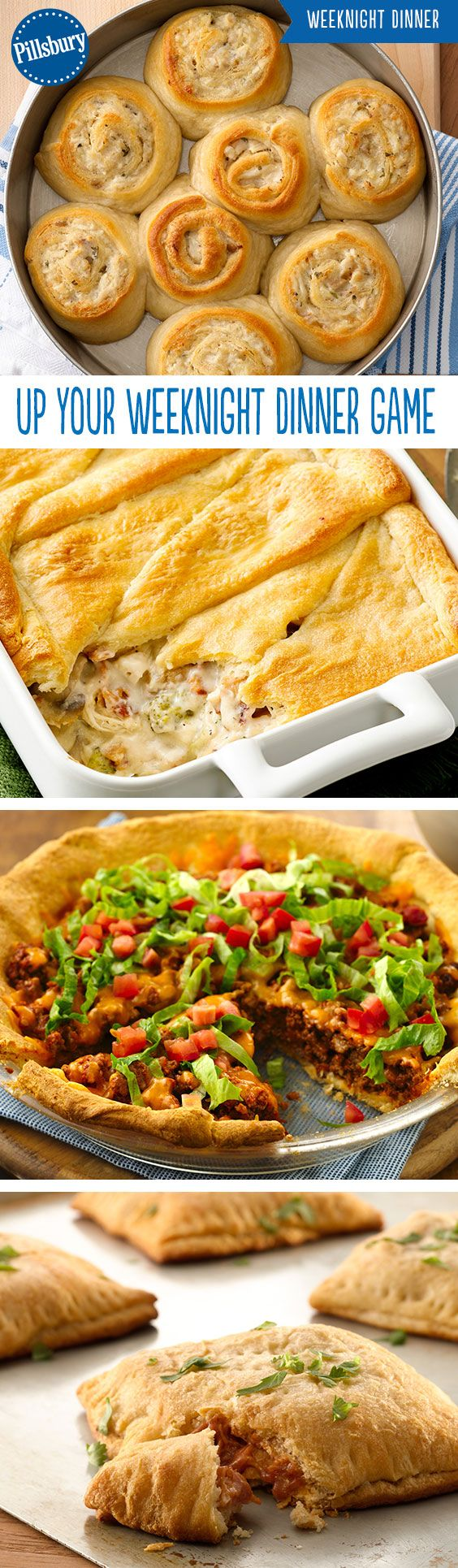 Dinners the whole family will love! From tacos to chicken to pasta the entire family is going to want seconds. All of these recipes are super easy for those busy weeknights.