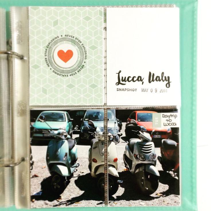 Project Life Mini Travel Album 6 x 8