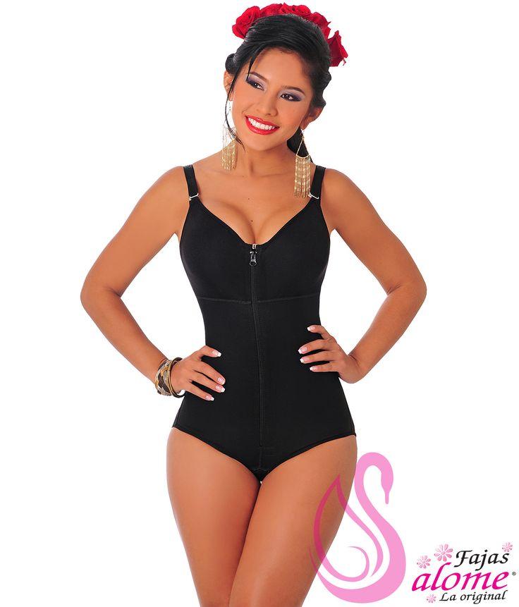 Fajas Salome Body Panty moldeador Con Brassuere Ref:0420