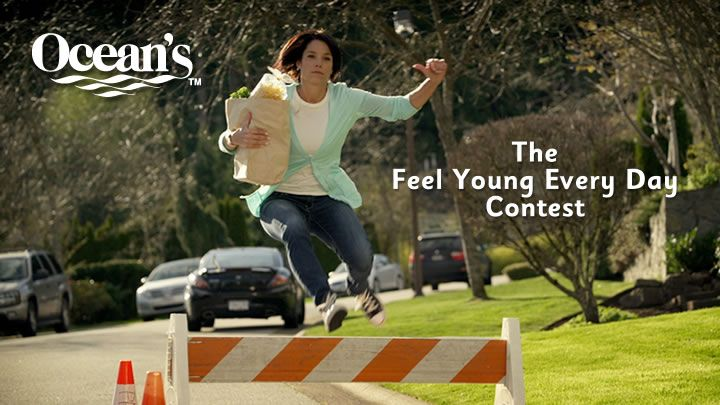 You should enter Feel Young Every Day Contest. There are great prizes and I think one of us could win!