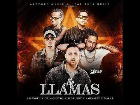 Arcángel Ft. De La Ghetto, Bad Bunny, Amenazzy y Mark B – Me Llamas (Preview) - http://www.labluestar.com/arcangel-ft-de-la-ghetto-bad-bunny-amenazzy-y-mark-b-llamas-preview/ - #Amenazzy, #Amenazzy-Y-Mark-B, #Arcangel, #Bad-Bunny, #De-La-Ghetto, #Ft, #Mark-B, #Me-Llamas, #Preview