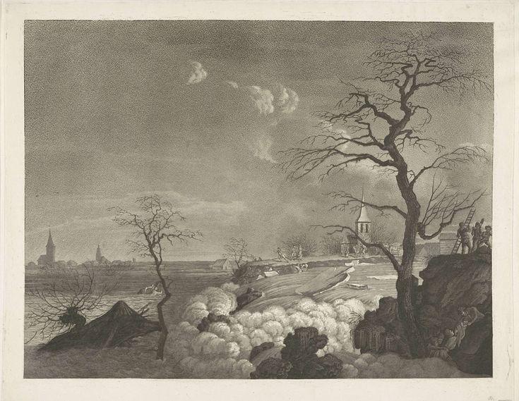 Dijkdoorbraak, 1809, A. Lutz (mogelijk), 1809