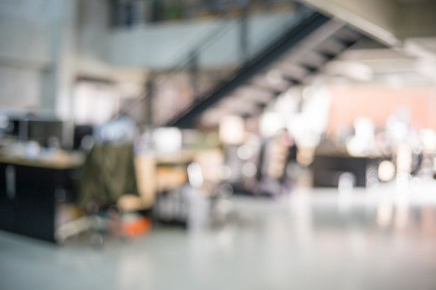 Blur Of Modern Office Background Em 2020 Escritorio Moderno