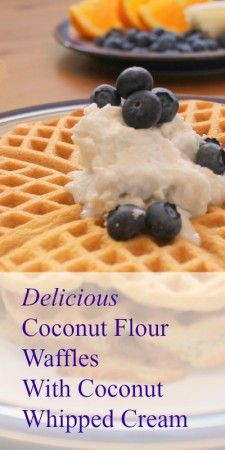 Coconut Flour Waffles for Breakfast and then the Freezer | Health, Home, & Happiness