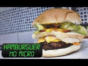 Aprenda a fazer um delicioso hamburguer caseiro no micro-ondas e economizar uma baita grana com o Micro Sobrevivência Pocket! O Micro Sobrevivência Pocket é ...