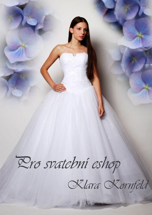 ANIMA - Luxusní tylové svatební šaty - zvětšit obrázek