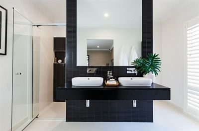 Caesarstone Jet Black  (Stylemaster Homes)