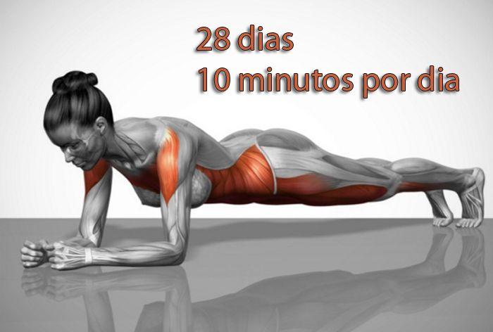 5 exercícios simples que irão transformar seu corpo em apenas quatro semanas.