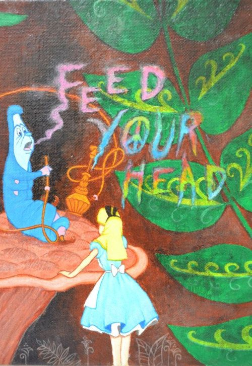 psychedelic quotes Alice in wonderland - Google Search