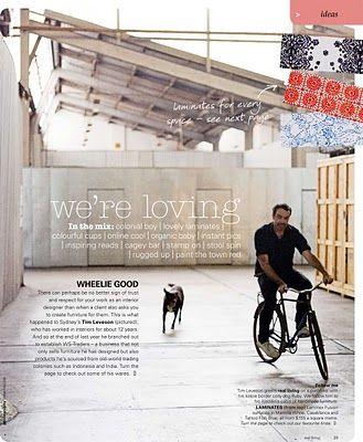 daily imprint: designer tim leveson