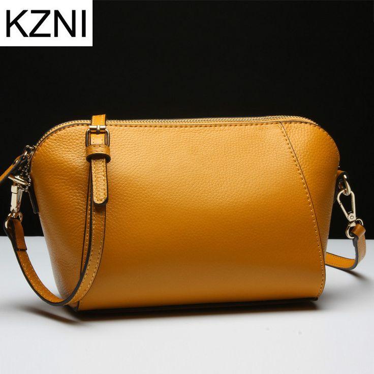 KZNI crossbody bags for women designer handbags high quality genuine leather bolsas femininas bolsas de marcas famosas L121885