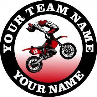 Customized Motocross Logo 03