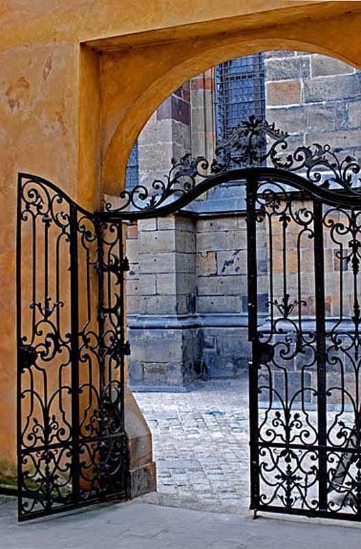 Wrought Iron Patio Doors : Best custom wrought iron gates images on pinterest