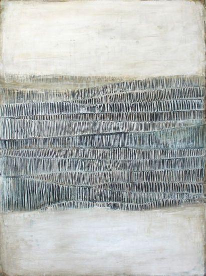 déferlement des vagues by karine léger 36x48 acrylic on canvas