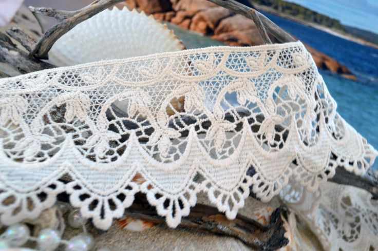 Cream Lace by TheQuiltedCheese on Etsy