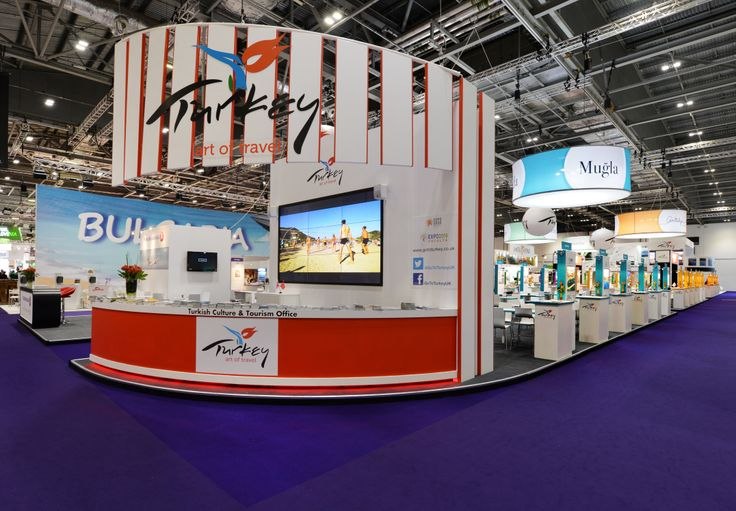 Tourism Exhibition Booth Design : Ministry of turkish culture and tourism wtm