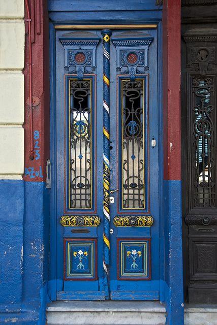 Colourful Door, La Boca, Buenos Aires | Flickr - Photo Sharing!