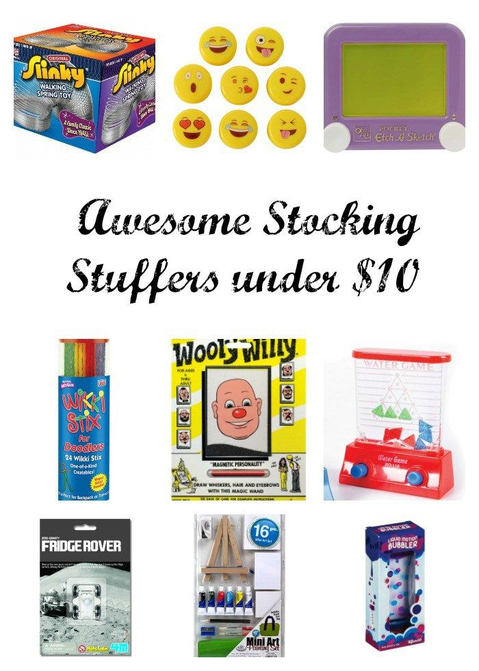 Awesome Stocking Stuffers Under $10