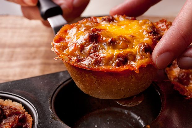 Recipe for mini tamale pies from Chow. This recipe calls for ground ...