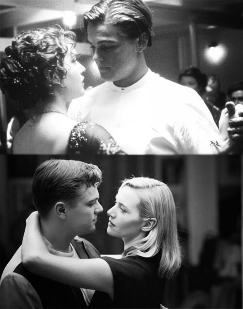 Leonardo DiCaprio and Kate Winslet in Titanic and Revolutionary Road. Seriously, get married!