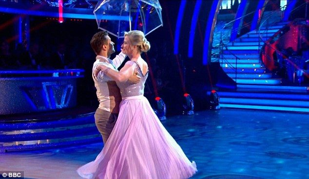 Hard work paid off:BBC weather presenter Carol Kirkwood, 53, followed, with her ballroom dance with last year's winner Pasha Kovalev earning her a total score of 20