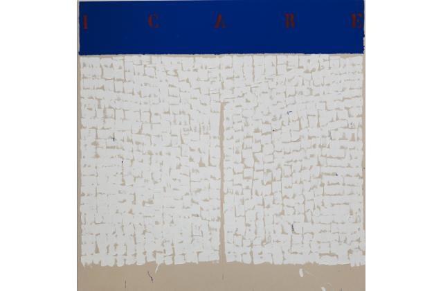 Richard Mill | RM 1438 (Icare) | Acrylique et bombe aérosol sur toile (acrylic and spraypaint on canvas) |2011