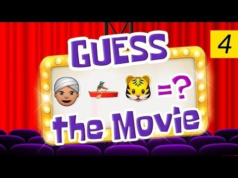 Can You Guess All The Movies? | Emoji Challenge 4 - YouTube