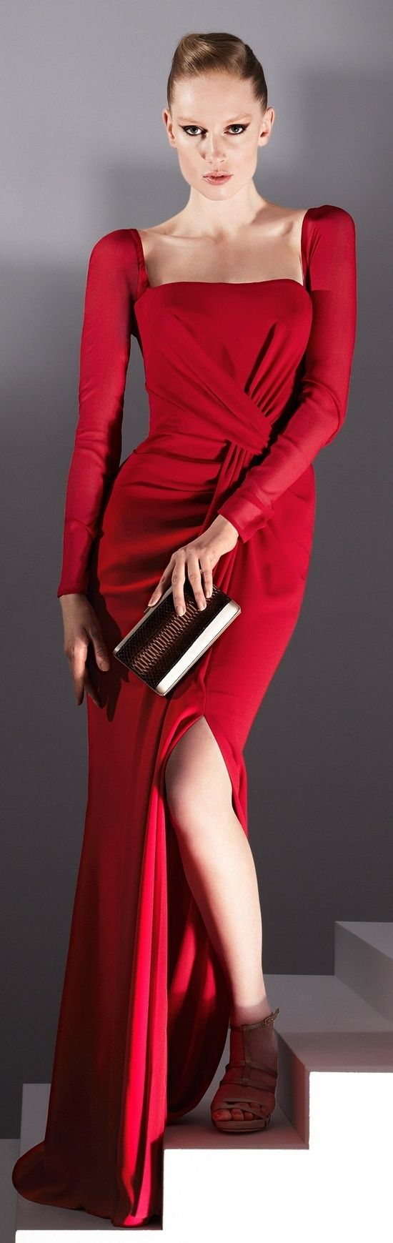 Attractive Red Dresses For A Girl Who's Interested In Fashion ~ posted by suesmith, community user.