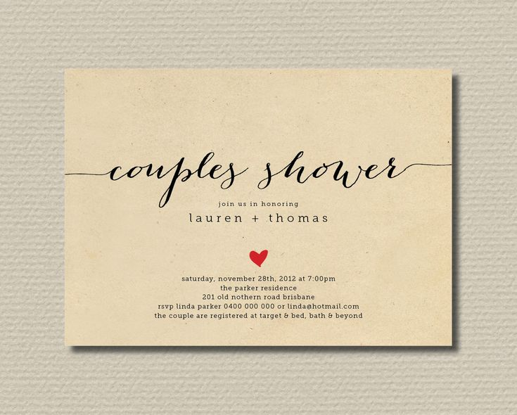 17 best ideas about couples shower invitations on pinterest, Wedding invitations