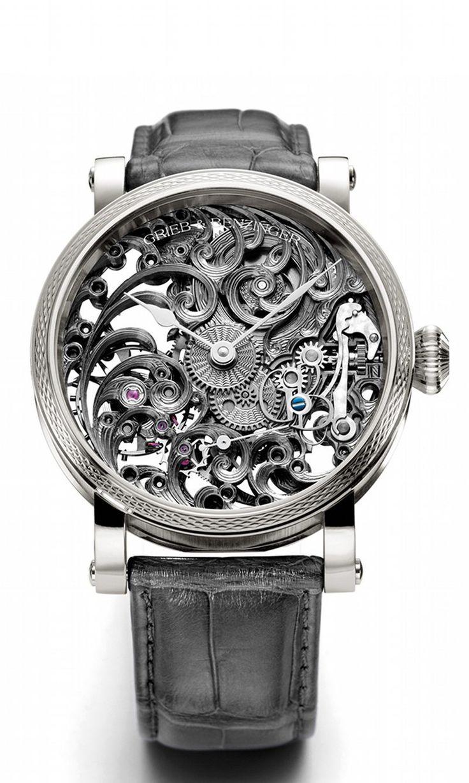 When #luxury meets high-end #horology Grieb  Benzinger Shades of Grey - Grey Tulip watch! | Raddest Looks On The Internet: http://www.raddestlooks.org