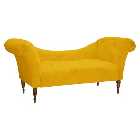 17 best images about dreaming about our dream home on for Button tufted chaise settee velvet aubergine