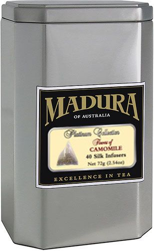 Mandura of Australia - Chammomile tea. Enjoy the mesmerizing aroma and delicious taste.