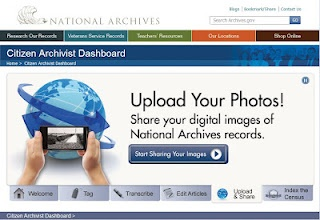 be a citizen archivist for the National Archives!
