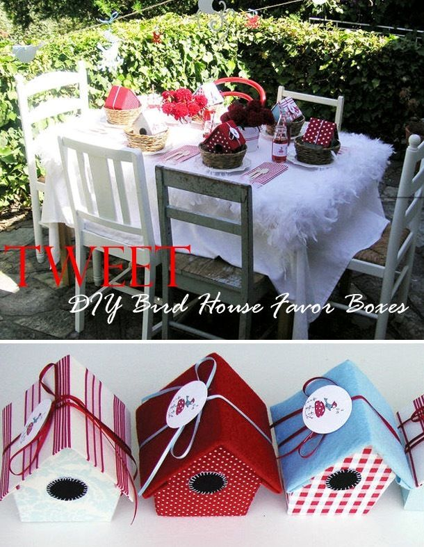 bird house tutorial  http://justcallmemarthaa.blogspot.com.br/2010/12/birdy-house-treat-box-tutorial.html