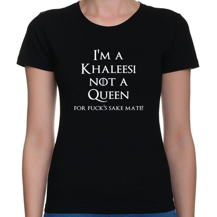 Koszulka I'm a Khaleesi not a queen - Gra o tron