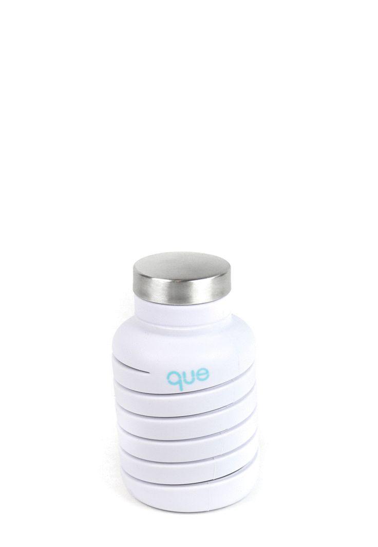 que Bottle / Collapsible Water Bottle
