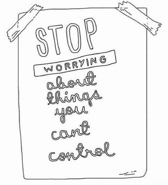how to think positive and stop worrying