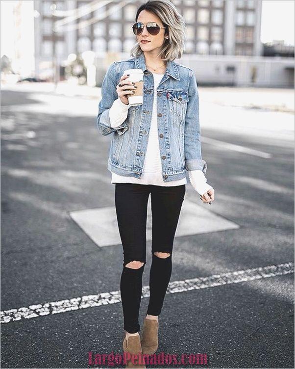35 Chicas Jeans Ajustados Chic Fall Outfits Denim Fashion Fashion Clothes Women