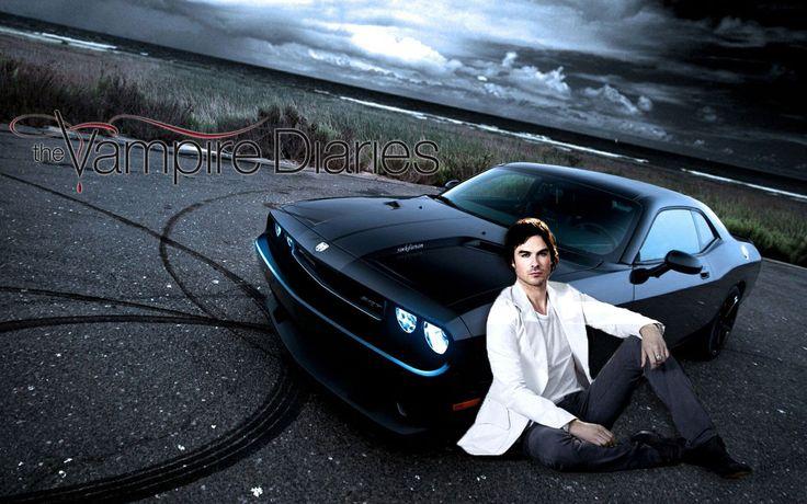 Image Result For The Vampire Diaries Damon Dodge Challenger