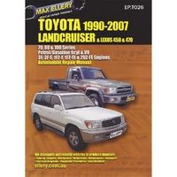 Toyota Landcruiser 70/80 & 100 Series Petrol from 1990-2007 with MPN EP.TO26