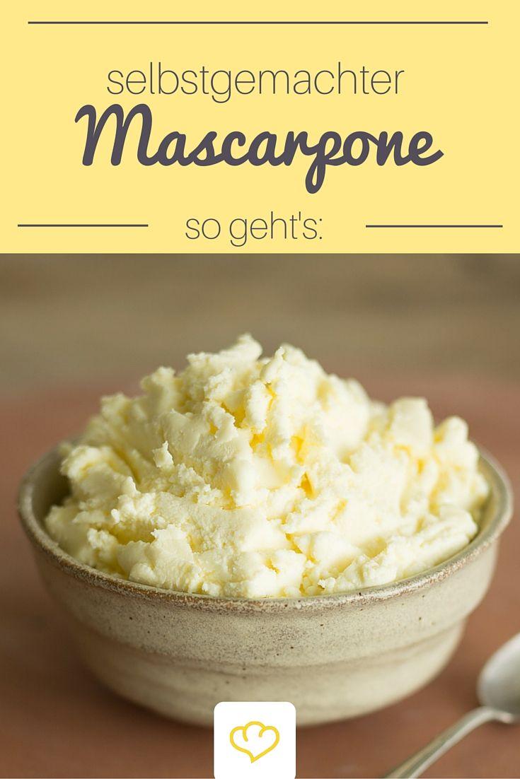 Anstatt Clotted Cream eignet sich auch Mascarpone für deine Scones. Wie du Mascarpone ganz einfach selber machen kannst? Wir verraten es dir!
