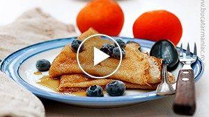 Clătite de post (fără ouă) – rețeta video