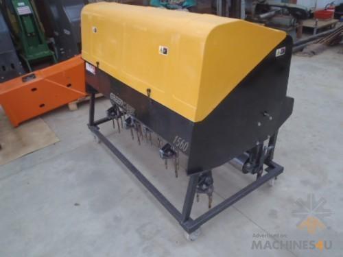 Greencare Aerator 1560 Turf Corer - http://www.machines4u.com.au/browse/Farm-Machinery/Garden-Lawn-Turf-140/Lawn-Turf-Equipment-1074/