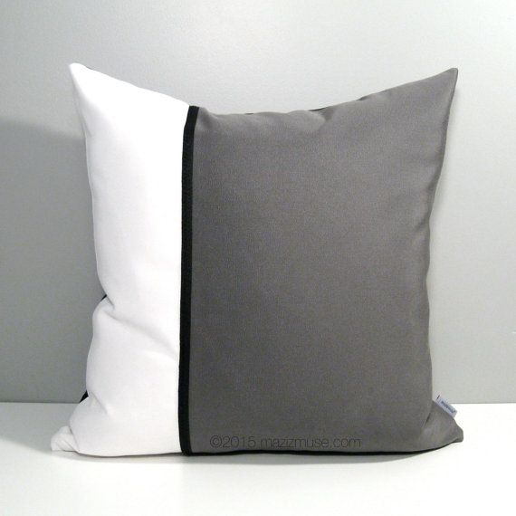 Modern Family Pillow Case : 1000+ images about Black White & Greyscale - Modern Pillows by Mazizmuse Design Co on Pinterest ...
